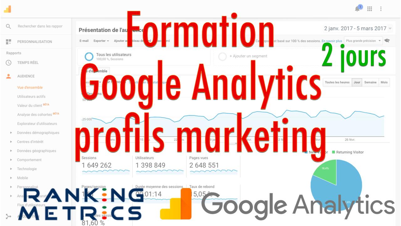Formation Google Analytics Pour Profils Marketing